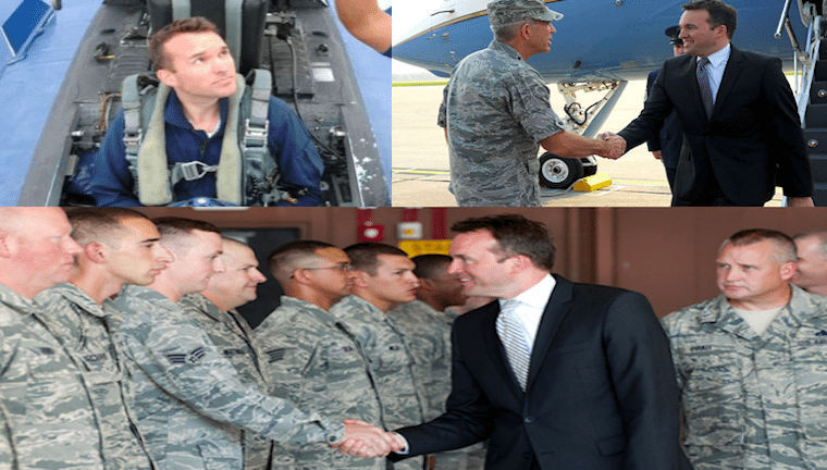 Army nominee collage
