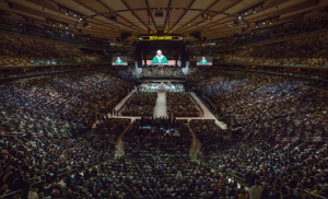 Pope Francis at MSG