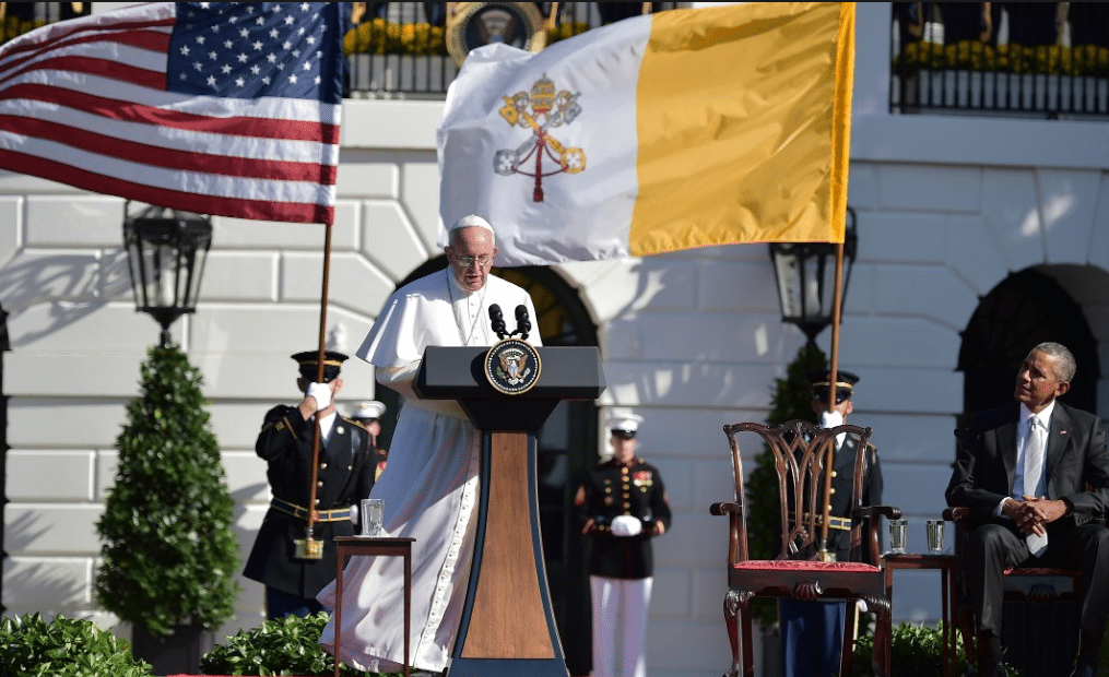 Pope Francis at White House