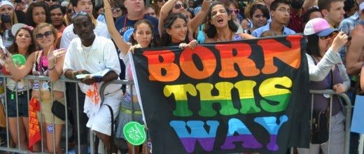 Homosexuality born this way