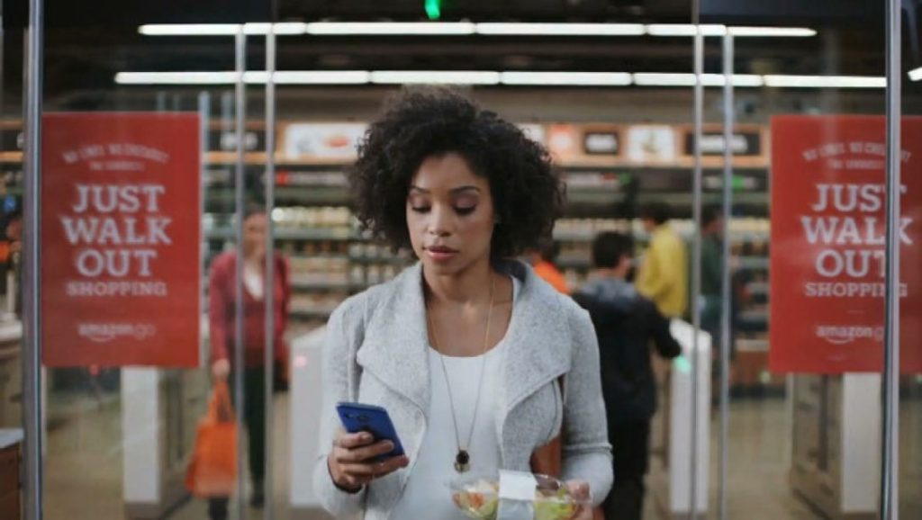 Amazon Go JUST WALK OUT